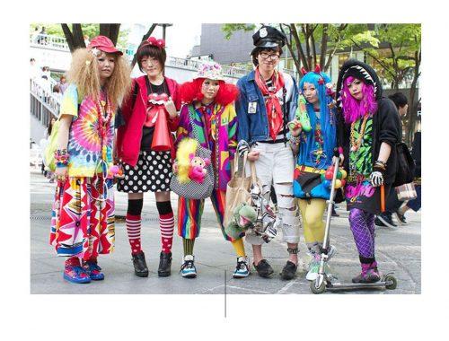 Ομάδα στο Harajuku
