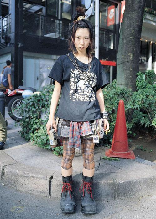 Punk av Harajuku, sent på nittitallet