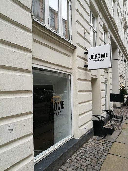 Jerôme Vintage, uno dei negozi vintage di Copenaghen