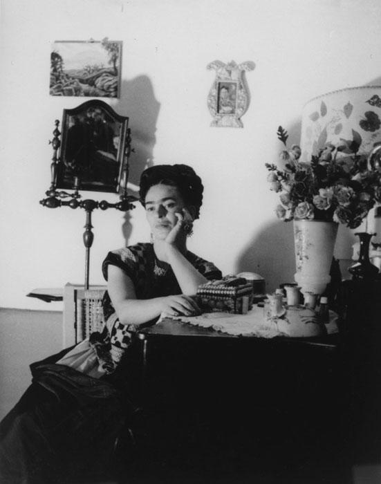 Frida Kahlo, portrait of Lola Álvarez Bravo