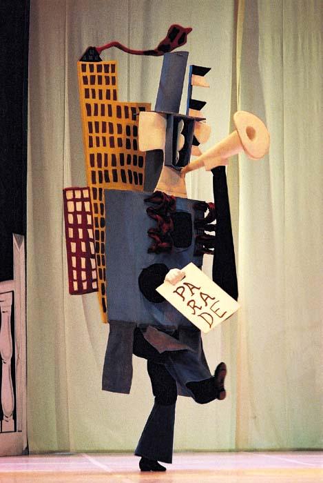 Picasso-kostuums voor Les Ballets Russes