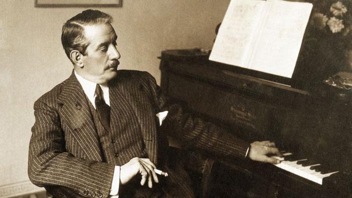 Giacomo Puccini, retrato
