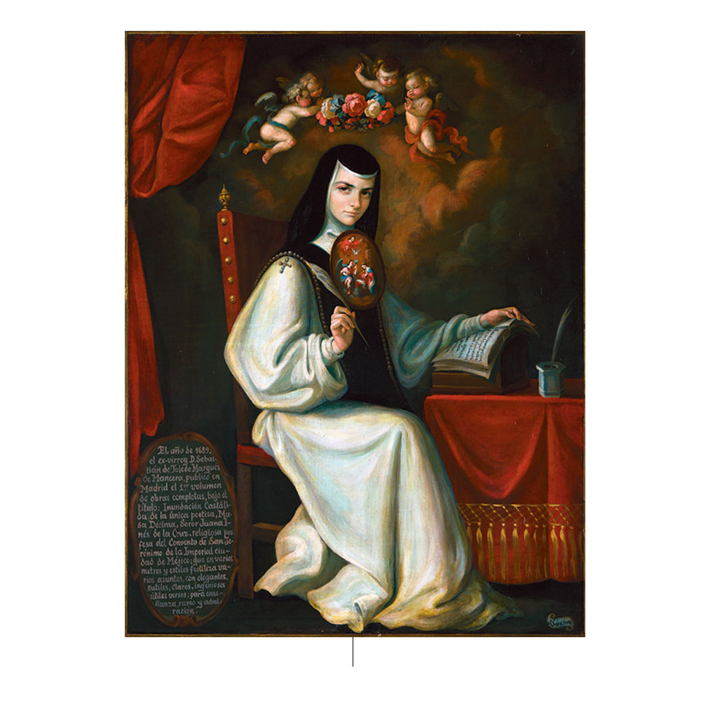 Sor Juana Ines De La Cruz. Photo by: pinterest.com