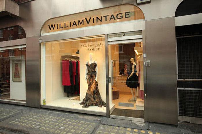 Facciata di William Vintage, Londra