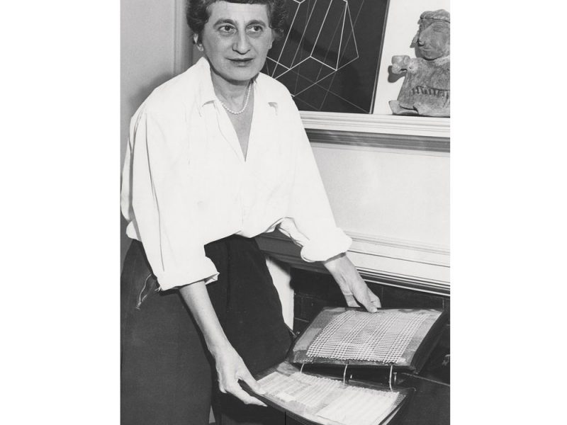 Anni Albers a New Haven