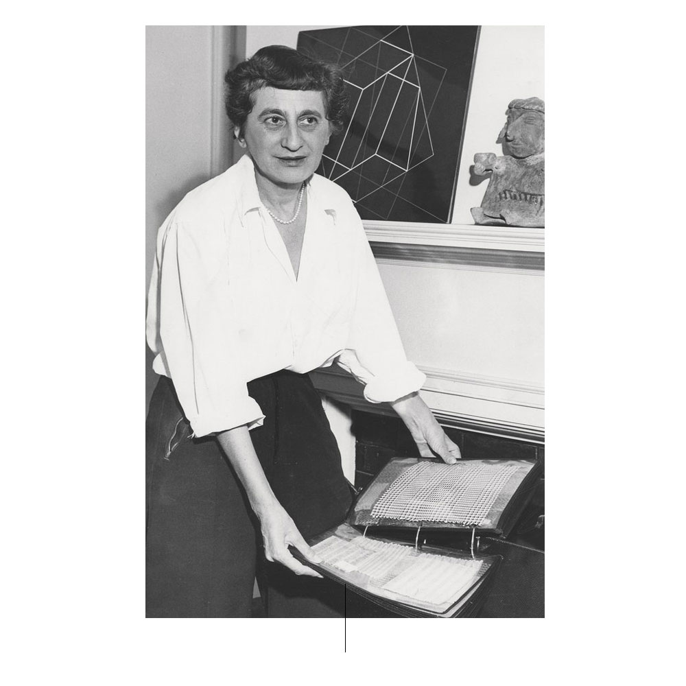 Anni Albers in New Haven