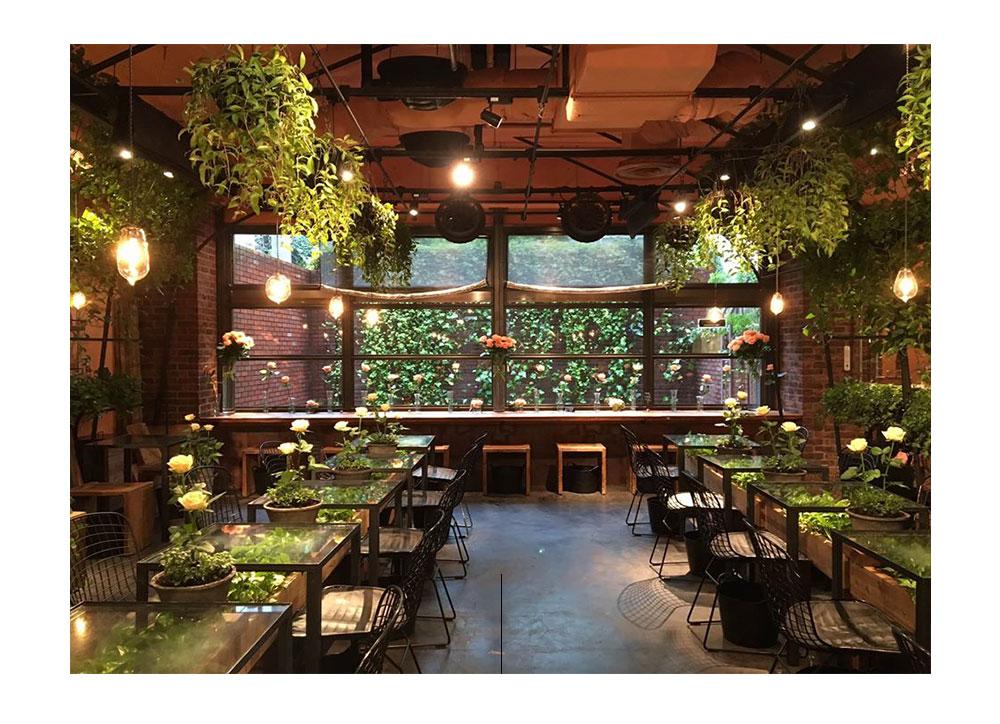 青山花卉市场茶馆。 图片提供者:FB @ AFMTEAHOUSE