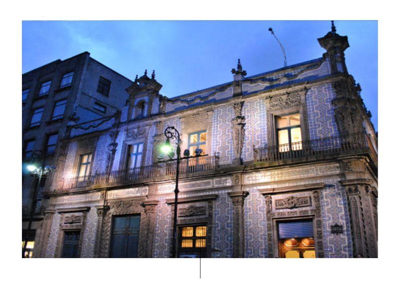 House of the Tiles. Foto deur: mxcity.mx
