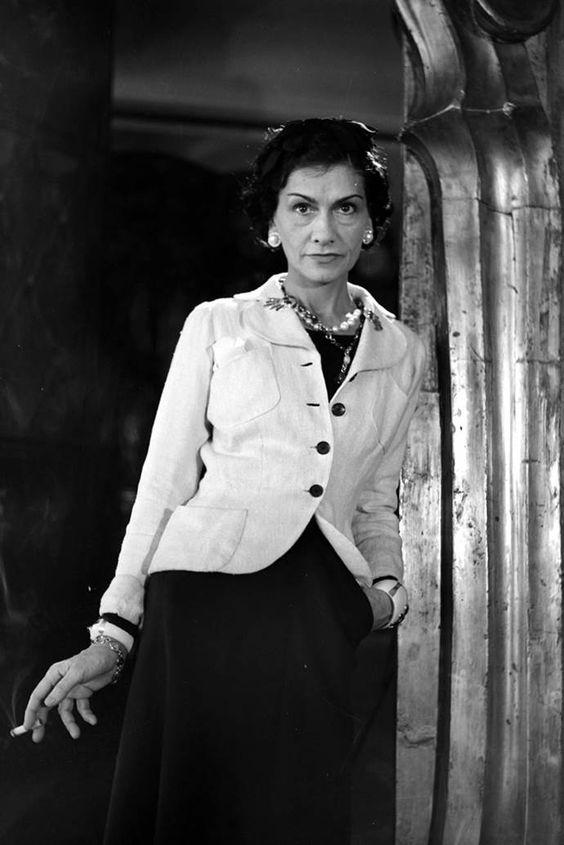 Coco Chanel Foto deur: pinterest.com