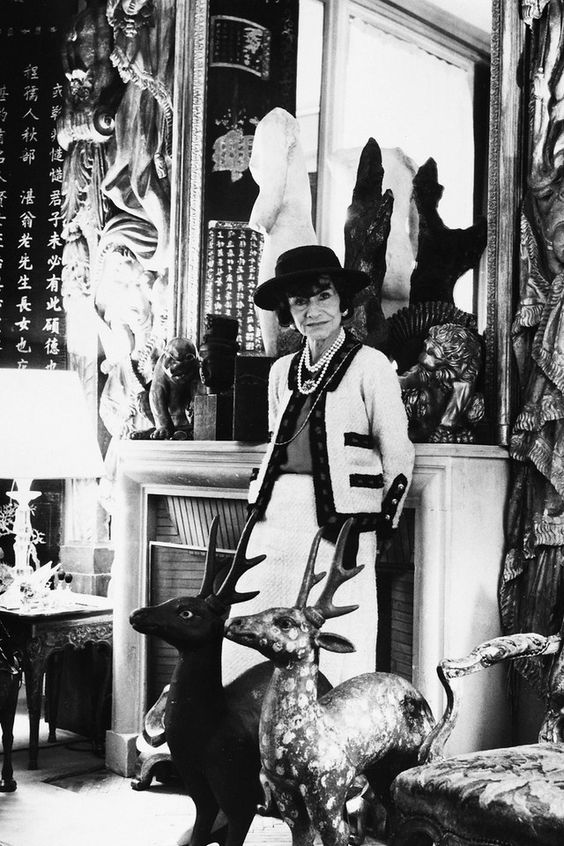 Coco Chanel Foto door: pinterest.com