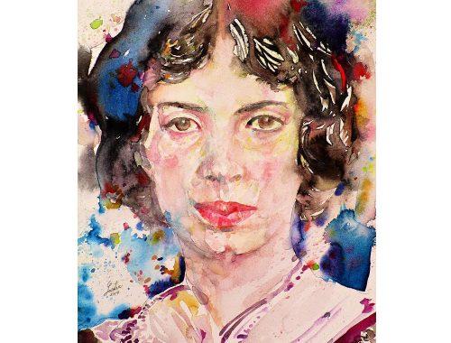 Emily Dickinson photo: fineartamerica.com