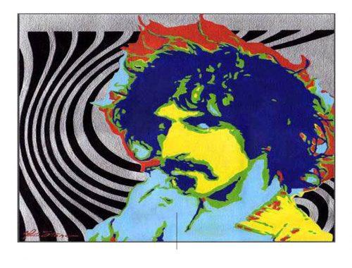 Frank Zappa Foto av: pinterest.com