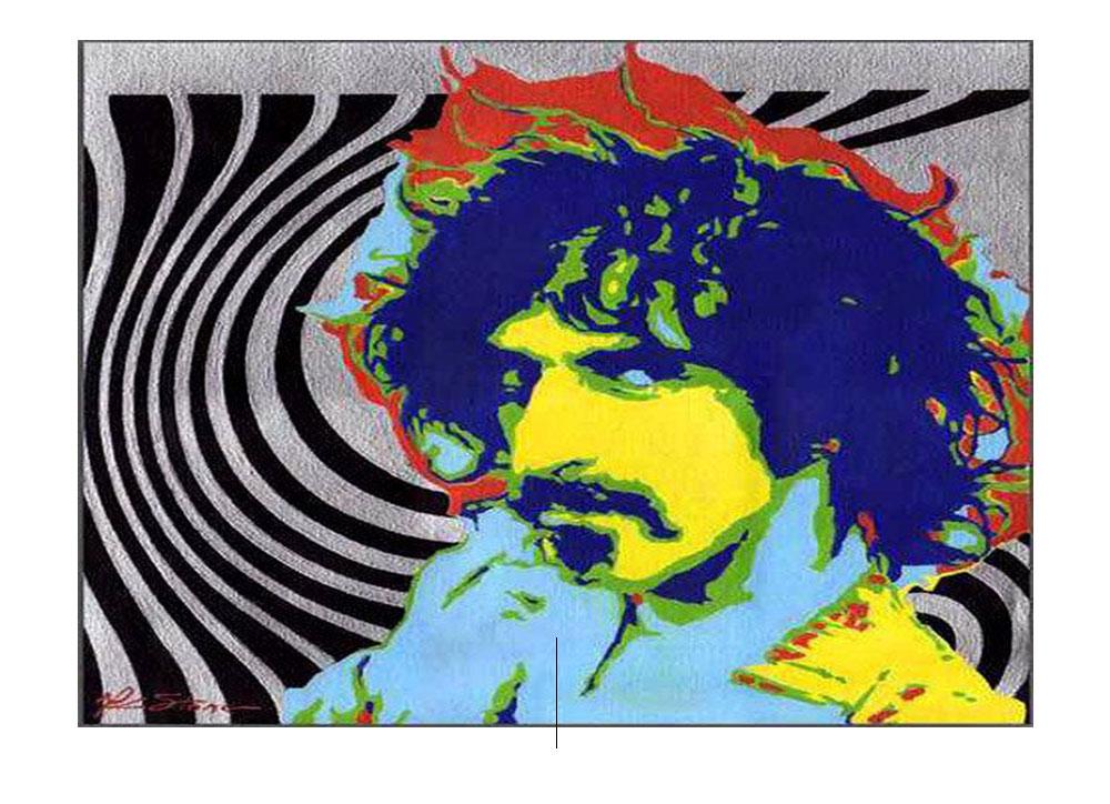 Frank Zappa. Foto de: pinterest.com