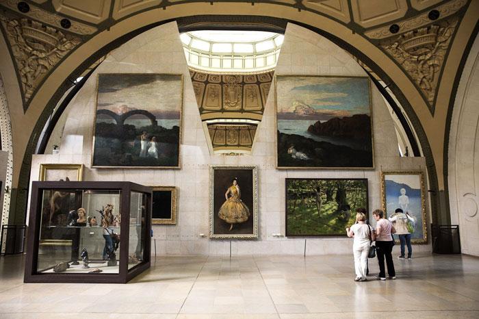 Vista de Galería de Museo de Orsay