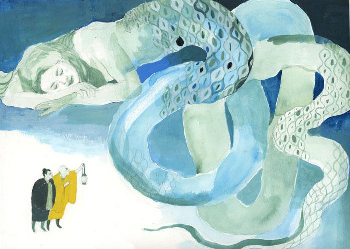 Illustrazione editoriale di Jia Sung