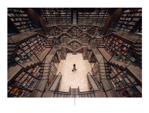 Chopqing Zhongshuge bokhandel. Foto av: archdaily.com