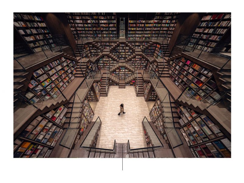 Chopqing Zhongshuge-boekwinkel. Foto deur: archdaily.com