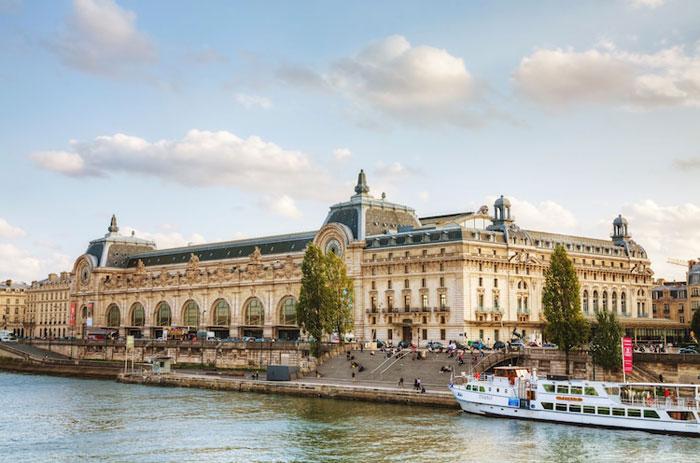 Vista externa del Museo de Orsay