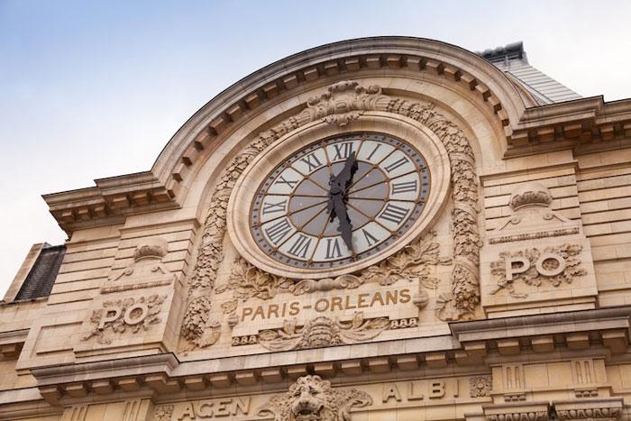 Reloj externo del Museo de Orsay