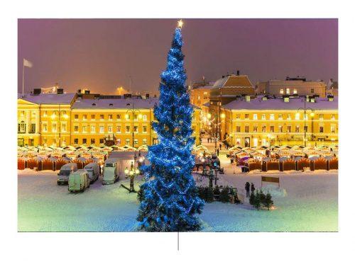 Finland en Kerstmis. Foto door: pinterest.com