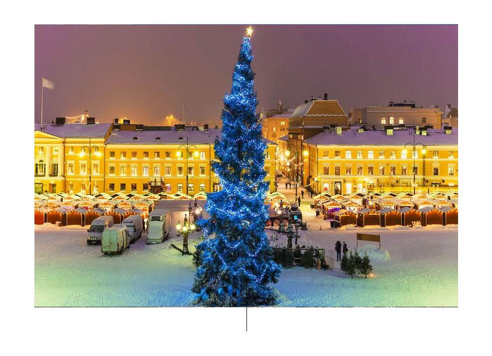 फिनलैंड और क्रिसमस। फ़ोटो द्वारा: pinterest.com