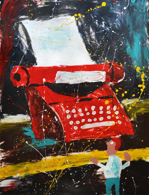 Fragmento del proyecto Scribe Box, Santiago Solís