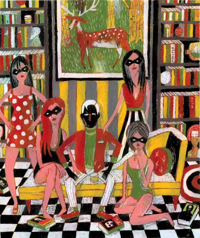 Ilustración de Santiago Solís