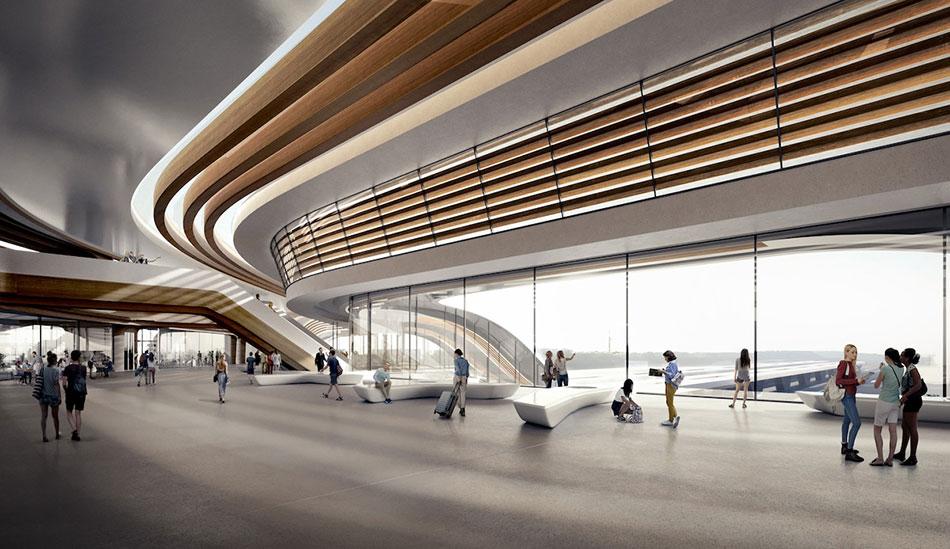 Terminale della ferrovia baltica Foto di: pinterest.com