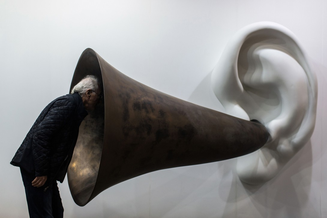 Beethoven's Trumpet (With Ear), John Baldessari