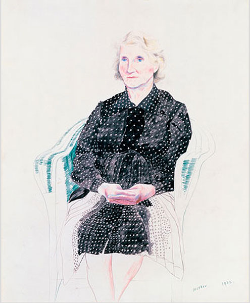 Moeder, David Hockney