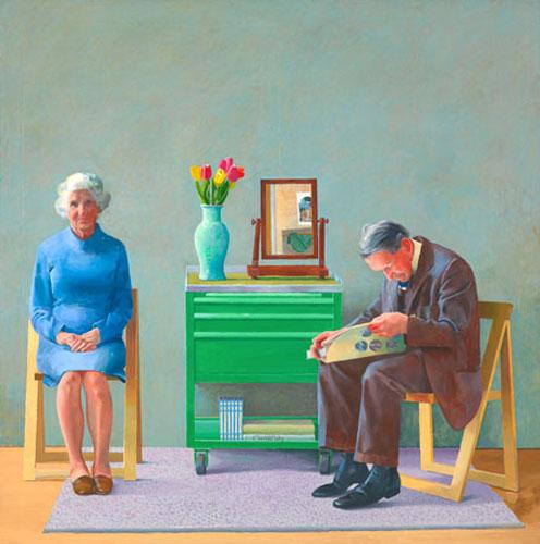 Mijn ouders, David Hockney