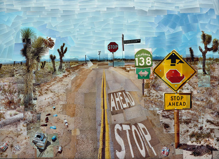 Pearblossom Highway, David Hockney