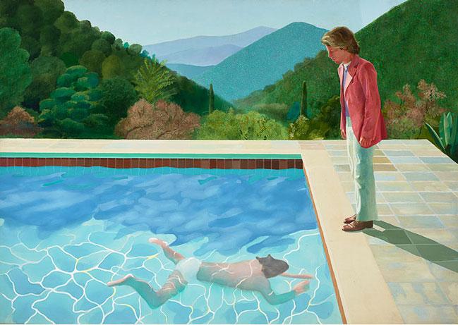 Portret van een kunstenaar, David Hockney