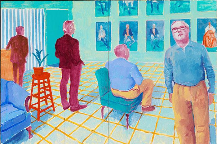 De groep, David Hockney