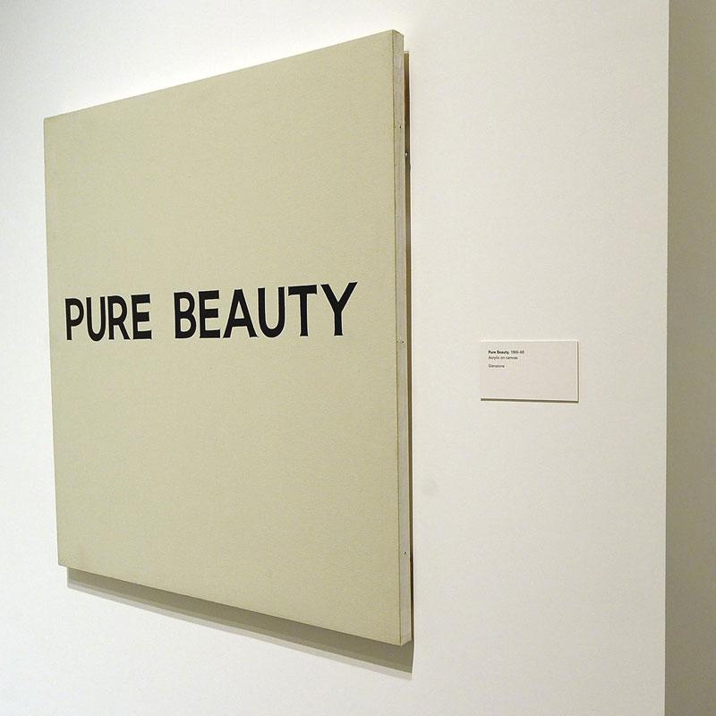 Pure Beauty, John Baldessari