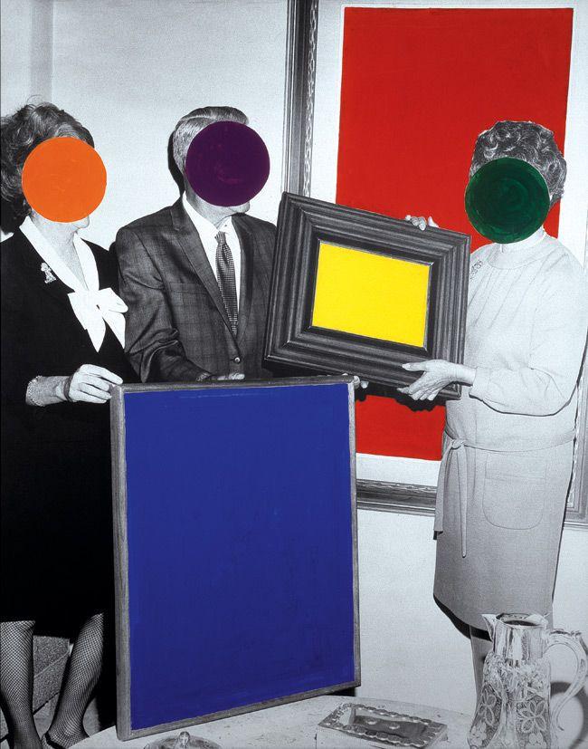 Dot Collage, John Baldessari