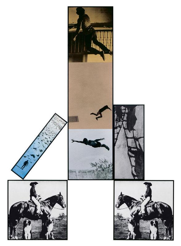 Upward Fall, John Baldessari
