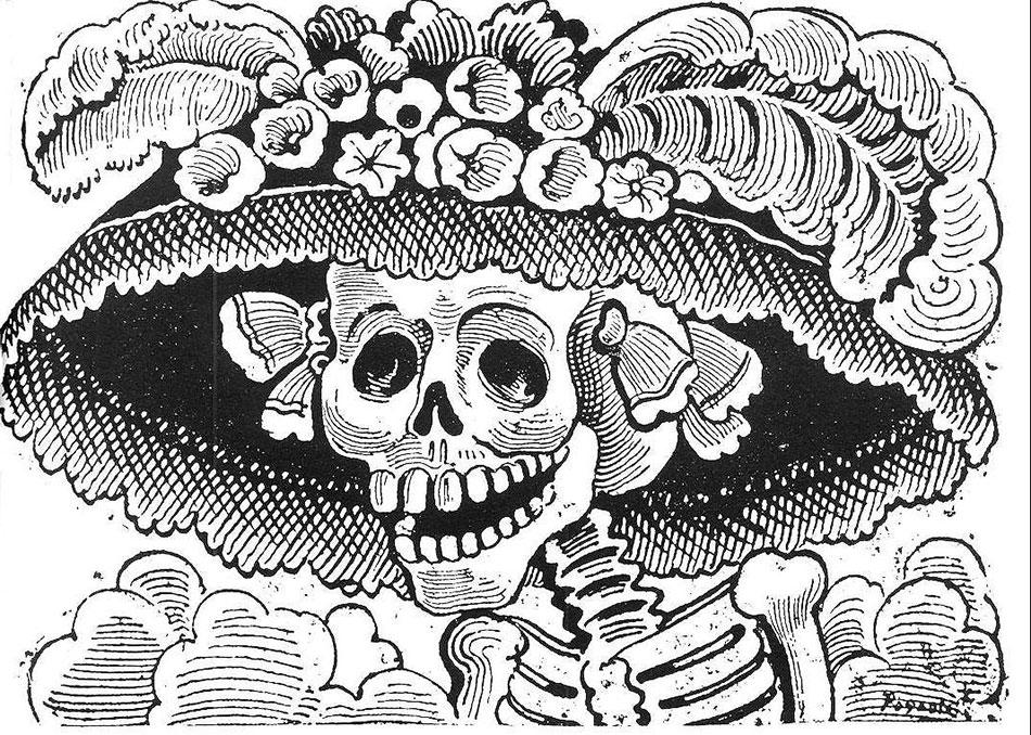 José Guadalupe Posada. Foto av: pinterest.com