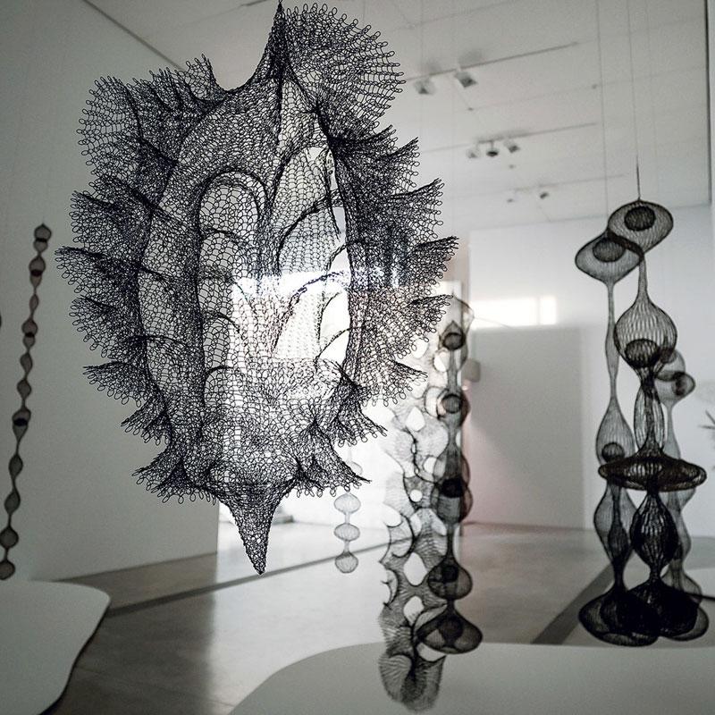 Esculturas de Ruth Asawa en exhibición