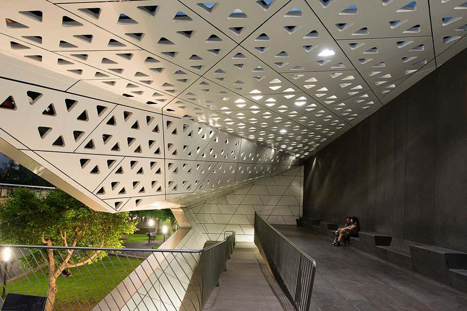 National Cineteca of Mexico. Foto av: archdaily.mx