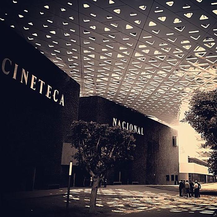 National Cineteca of Mexico. Foto av: pinterest.com
