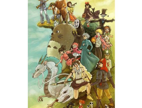 Ghibli-studie. Foto fra: Pinterest.com