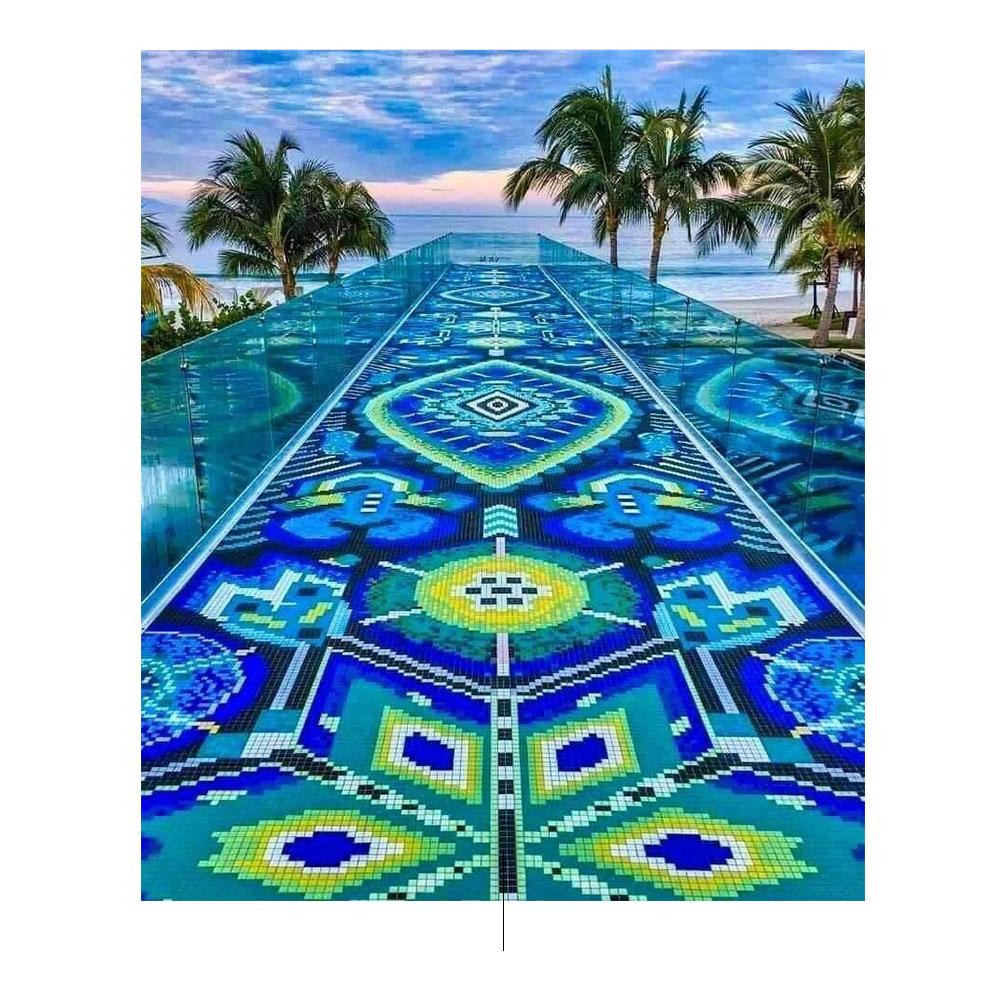 אמנות Huichol. תמונה מאת: pinterest.com