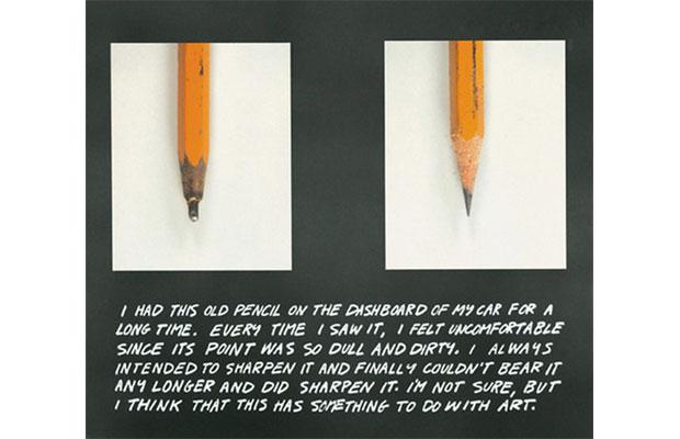 The Pencil Story, John Baldessari