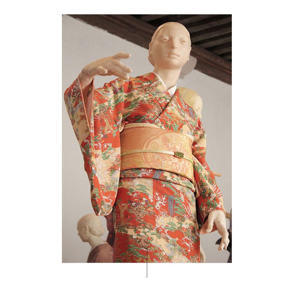 Kimonos és Minoru Kobayashi. Fotó: pinterest.com
