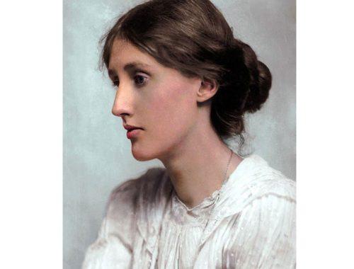 Virginia Woolf Foto door: pinterest.com