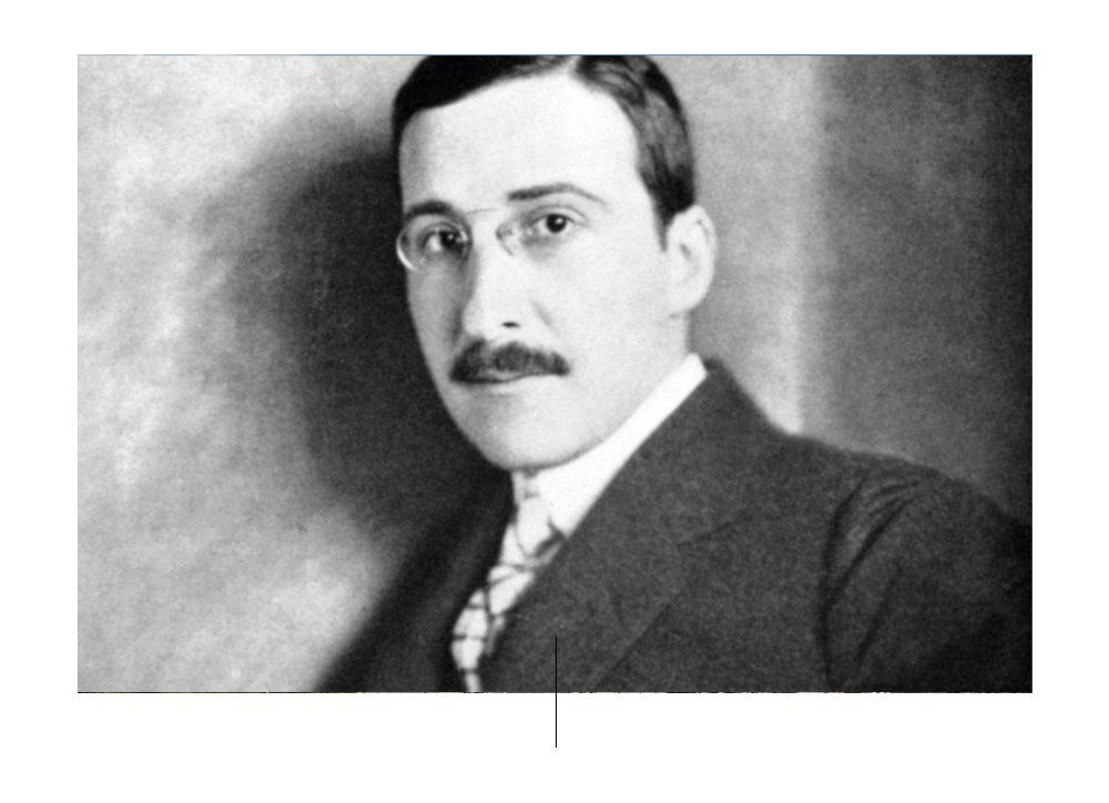 Stefan Zweig Photo by: pinterest.com